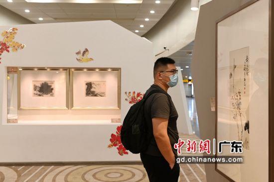 廣州藝術博物院白云國際機場分院正式開放