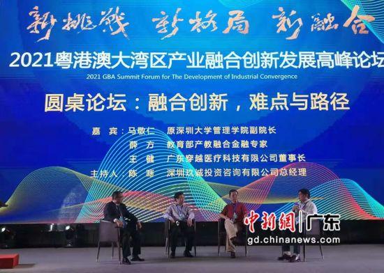 """""""融合创新,难点与路径""""圆桌论坛。 作者 岳桂"""