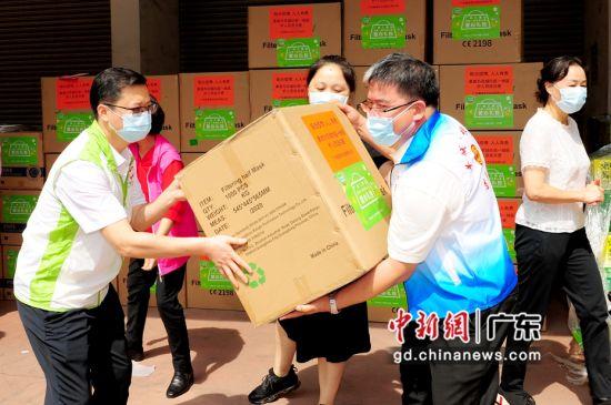 广州举行工青妇送温暖行动 作者 罗瑞雄供图