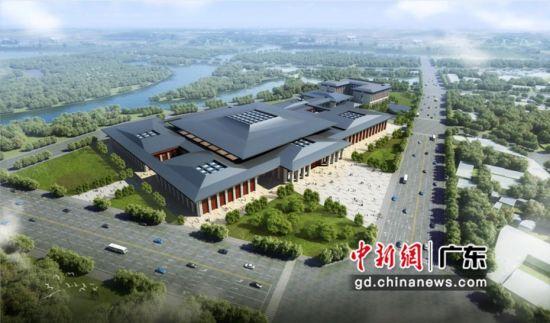 """坪山高新区综合服务中心项目采用""""BIM+装配式""""建设新模式。通讯员 供图"""