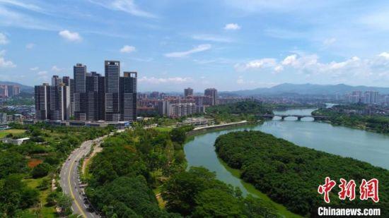 增城近年来积极开展国土绿化行动(资料图) 广州市增城区委宣传部 供图