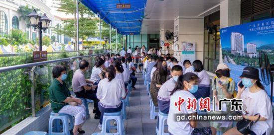 广州电脑维修_广州番禺区最大新冠疫苗接种点迎来首批学生团