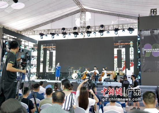 图为2021深圳98音乐文化节。陈文 摄