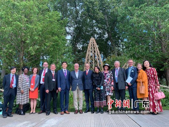 """2021切尔西花展""""广州花园""""开园仪式。广州市林业和园林局供图"""