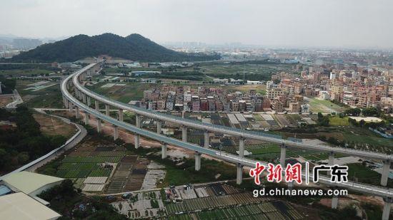 广佛东环线白沙村2号特大桥上、下行线 作者 黄诗伟