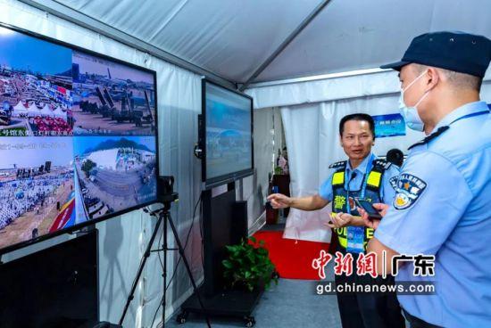 广东警方依托科技平台护航珠海航展。 作者 韦昌鸿