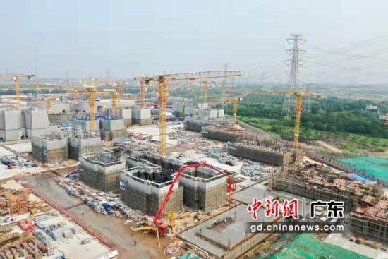 广州规模最大安置房项目进入主体工程施工阶段 作者 林诗妍