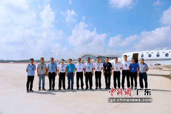 湛江吴川机场开展校飞工作 作者 广东机场集团供图