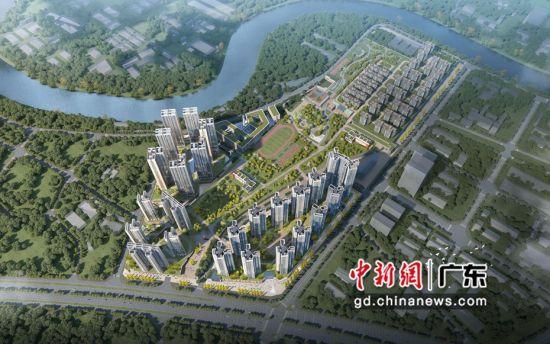 图为深铁�Z城项目片区效果图。 作者 深铁集团 供图
