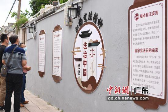 广东潮州结合古城传统文化 打造法治宣传主题巷 作者 林大森