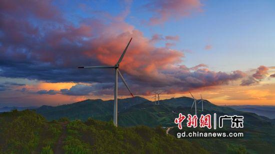 中广核云南磨豆山风电场。 作者 中广核 供图