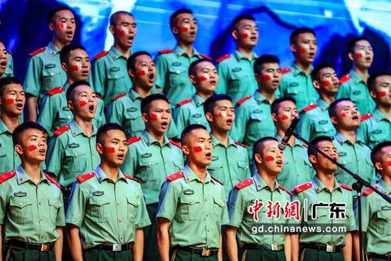 武警警官学院训练基地举办美育教育活动