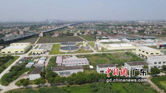 广州南沙东涌污水处理厂项目正式竣工验收