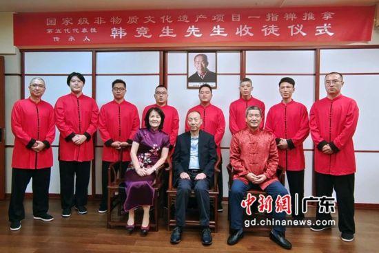 珠海国家级非物质文化遗产项目举办传统传人拜师入室礼