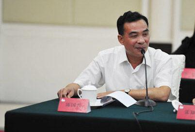 广东省台办主任陈国兴在座谈会上发言