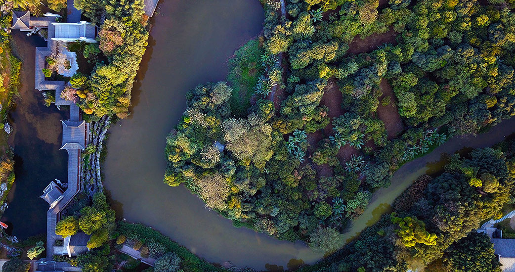 高清图!看珠三角绿色生态水网有多美