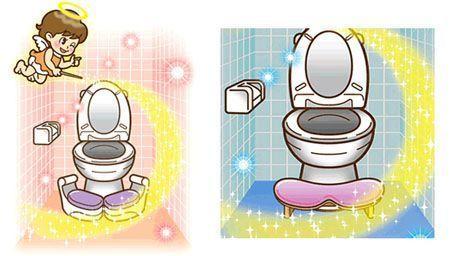 日本新发明马桶:男士跪着尿尿(图)