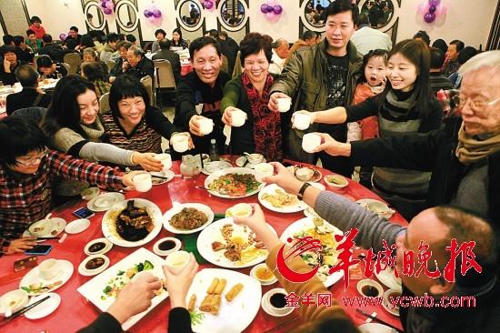 团圆饭 羊城晚报记者 汤铭明