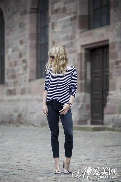 简易舒适短袖T恤百搭 长裤短裤都OK(11)