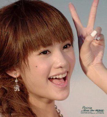 网红竟靠齐刘海走向人生巅峰 盘点女星齐刘海发型谁更清纯 12